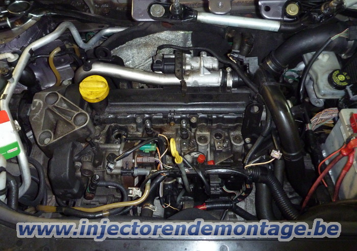 Injector removal from Renault / Nissan / Dacia                 with 1.5 dci engine